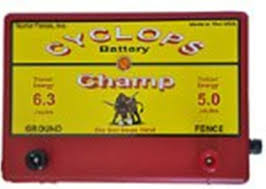 Cyclops Champ Battery Powered 5 Joule 12volt Electric Fence Charger Energizer For Sale Online