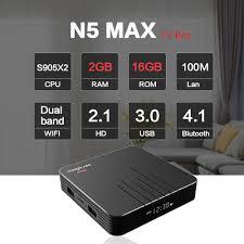 Mở hộp chiếc Android TV Box Magicsee N5 Max Android Tivi Box ...