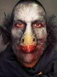 spfx scary bird makeup anartisticalley