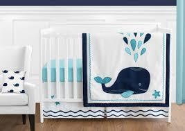 crib bedding set newborn ocean themed