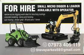 Avant And Micro Digger Hire West Midlands Home Facebook