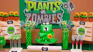 Decoracion Para Cumpleanos De Plants Vs Zombies Ideas Para Fiestas