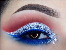 red white and blue makeup to have you