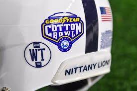 Psu Football Honoring Wally Triplett 1948 Cotton Bowl Team With Decal Centre Daily Times