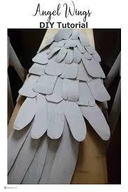angel wings diy tutorial how to make