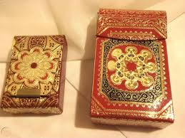 playing card case fiocchi italy