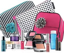lane free 7 piece beauty gift with