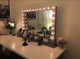 large premium lighted vanity frame with