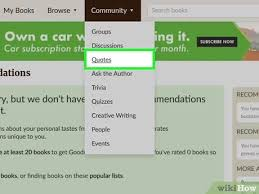 ways to share a quote goodreads wikihow