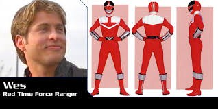 Wesley Collins, Red Time Force Ranger | Power Rangers Central