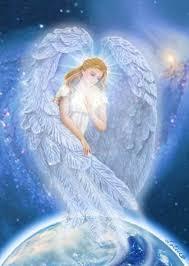 Bildresultat för Beautiful angel  earth painting