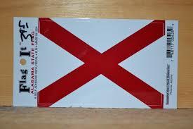 Alabama State Flag Decal Al State Flag Car Sticker