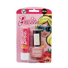 barbie lip balm strawberry spf 15 with