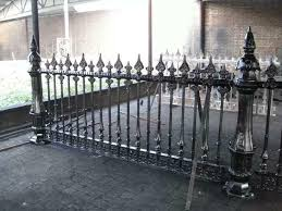 The Best Cast Iron Estate Victorian Heavy Incredible Fence With Posts Cmb1 Unbranded Cast Iron Fence Dream Backyard Driveway Gates For Sale