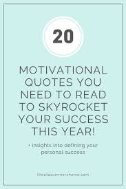 motivational quotes to inspire a successful year the old