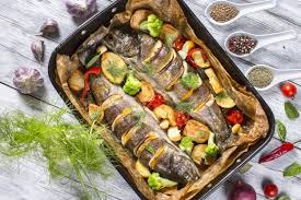 Baked Herring with Lemon recipe | verytasty.us