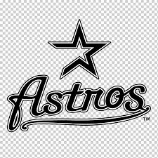 Houston Astros Logo Mlb Decal Minecraft Story Mode Text Logo Sticker Png Klipartz