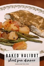 Baked Halibut With Parmesan Potatoes ...