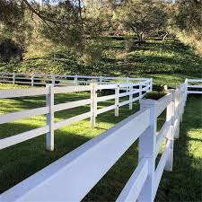 China Flexible Electric Fence Farm Horse Rail Fence With 10 Years Quality Guarantee Photos Pictures Made In China Com