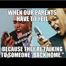 Tell me u don't deal with this at home - African parents be like ...