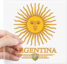 Amazon Com Cafepress Argentina Sun Sticker Square Bumper Sticker Car Decal 3 X3 Small Or 5 X5 Large Home Kitchen