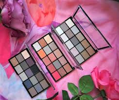 mua pro eyeshadow palettes review