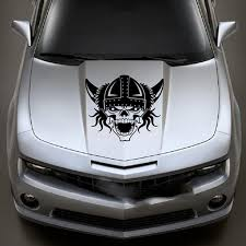 Skull Viking War Motor Vinyl Decal Hood Window Sticker Van Car Truck Vehicle Suv Vinyl Decal Hood Stickercar Window Sticker Aliexpress