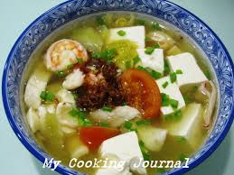 Chinese Style Seafood Soup ...