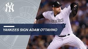 Adam Ottavino signs with the Yankees - YouTube