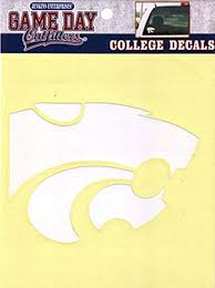 Amazon Com Ncaa Kansas State Wildcats Window Decal Stickers Sports Fan Decals Sports Outdoors