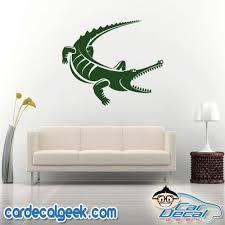 Croc Gator Vinyl Car Decal Reptile Stickers