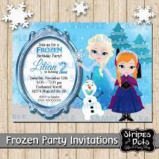 Invitacion De Frozen Invitacion De Elsa Frozen Party Frozen
