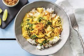 Thai Yellow Fish Curry Recipe
