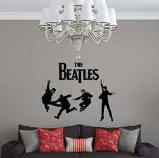 Oakwooddecals The Beatles Wall Decal Wayfair
