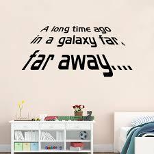 galaxy far far away wall