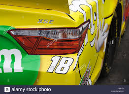Right Rear Quarterpanel And Tail Light Decal On The Back Of Kyle Stock Photo Alamy