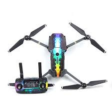 10 Colors Waterproof Stickers For Dji Mavic Pro Colorful Skin Wrapper Decals For Dji Mavic Drone Body Remote Control Battery Stickers For Stickers Stickersstickers Waterproof Aliexpress