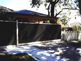 Pitched Carport Roof With Colorbond Fence All Decked Out