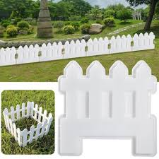 Small Fence Plastic Mold Concrete Cement Garden Pool Floor Tile Paving Mould Path Flower Brick Lawn Buy At A Low Prices On Joom E Commerce Platform