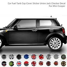 Mini Cooper Union Jack Sticker Decor Decal Car Fuel Tank Gas Cap Cover 18 Styles Ebay