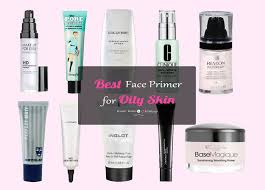 best makeup primer for oily skin and