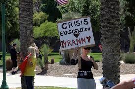 2nd protest demanding Arizona 're-open ...