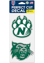Northwest Missouri State Bearcats 4x4 2 Pack Auto Decal Green 5718915