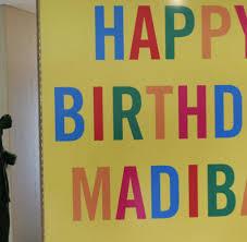 happy birthday madiba mandela beams as his grandchildren