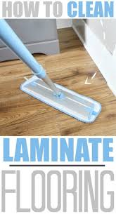 how to clean laminate floors the