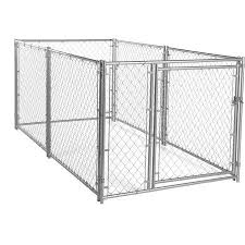 Lucky Dog Modular Chain Link Outdoor Pet Kennel 10 L X 5 W X 4 H Walmart Com Lucky Dog Pet Kennels Dog Kennel