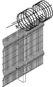 Securite Fence System Specifications Metalco Fence Railing Facade Screen Security Fence Architectural Fence Amp Gate Systems