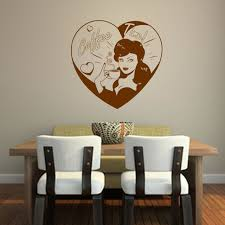 Pin Up Coffee Time Kitchen Wall Sticker Decal World Of Wall Stickers