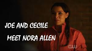 The Flash 4x20 Ending: Joe and Cecile meet Nora West-Allen - YouTube