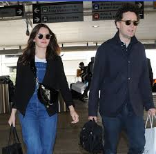 Felicity Jones With Her Husband Charles ...